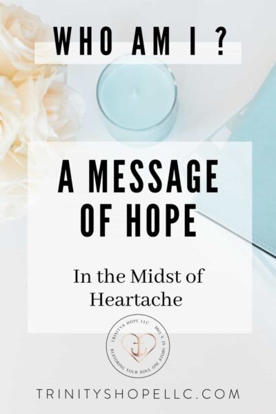 a message of hope in the midst of heartache