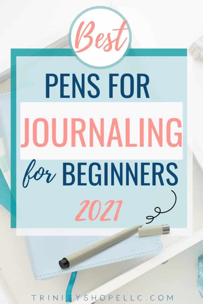 Best pens for journaling for beginners on journal inside of box