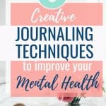 journaling techniques to improve mental health